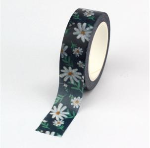Washi Masking Tape   Daisy Flowers
