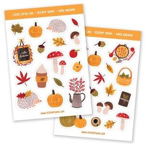 Hello Autumn Stickers