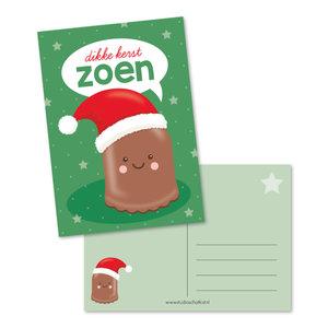 Postcard A6 | Kerstzoen