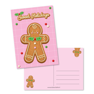 Postcard A6 | Sweet Holidays
