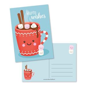 Postcard A6 | Warm Wishes