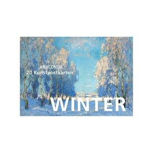 Anaconda Art Postcard Book | Winter