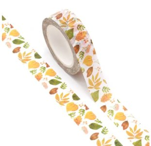 Washi Masking Tape | Colourful Fall Leaves