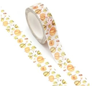 Halloween Washi Masking Tape | Pumpkins and Leaves