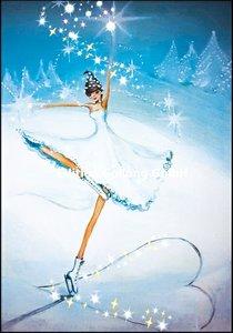 Sabina Comizzi Double Card | Ice princess