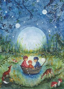 Postcard | Mushroom children