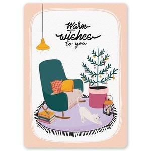 Postcard LittleLeftyLou | Christmas Cosy Home
