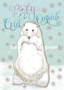 Sandra Brezina Postcard | Baby it's cold outside