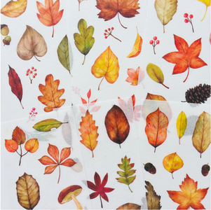 6 sheets of Autumn Stickers