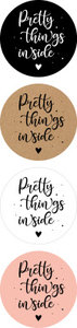 8 Stickers | Pretty Things Inside Mix