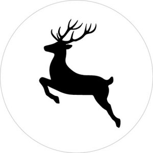 5 Stickers | Reindeer