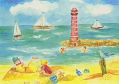 Postcard Dorothea Schmidt - Summer
