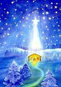 Postcard Dorothea Schmidt - Birth of Christ