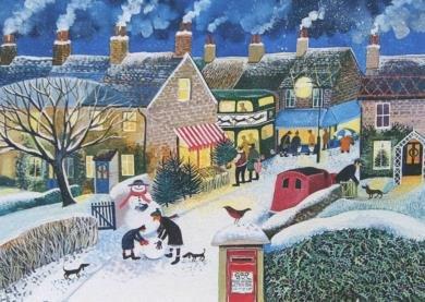 Postcard Weihnachtspost