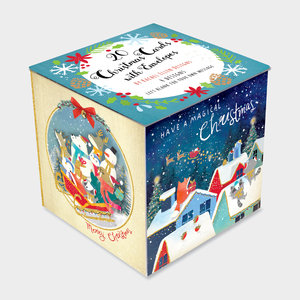 Rachel Ellen Designs Christmas Cube - Merry Little Christmas