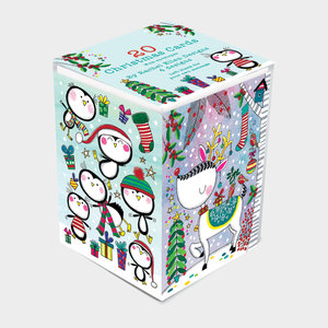 Rachel Ellen Designs Rectangular Christmas Boxes - Animals Theme