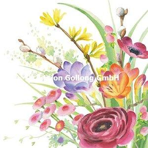 Nina Chen Postcard   Spring flowers