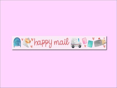Washi Tape | PINK HAPPY MAIL - Only Happy Things