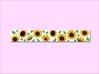 Washi Tape | SUNFLOWER - Only Happy Things