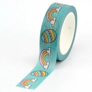 Washi Masking Tape   Easter Eggs and Rainbows