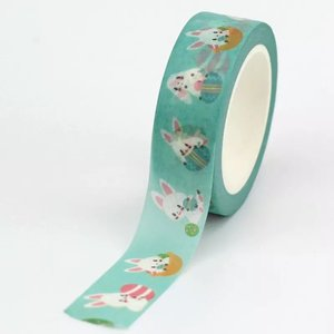 Washi Masking Tape | Bunnies in Easter Eggs