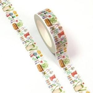 Washi Masking Tape | Gardening