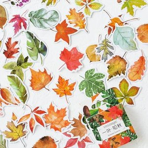 Sticker Flakes Box | Autumn Leaves
