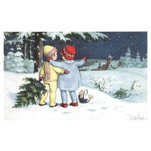 Postcard Ludom   Bonne Annee Noel