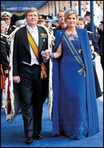 Museum Cards Postcard | Koning Willem-Alexander en koningin Maxima, Paleis het Loo