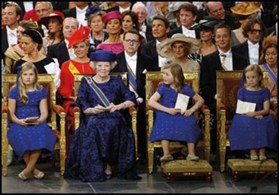Museum Cards Postcard | Prinses Beatrix met de Prinsesjes, Paleis het Loo