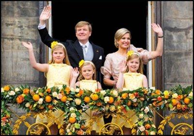 Museum Cards Postcard | Koning Willem-Alexander, koningin Maxima en de prinsesjes