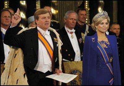 Museum Cards Postcard | Koning Willem-Alexander legt de eed af