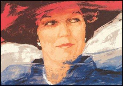Museum Cards Postcard | Koningin Beatrix