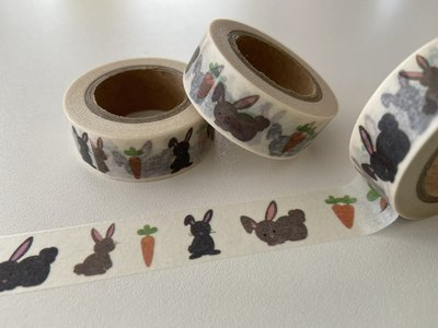 Washi Masking Tape | Bunnies and Carrots