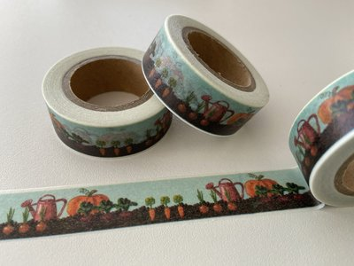 Washi Masking Tape | Growing Veggies