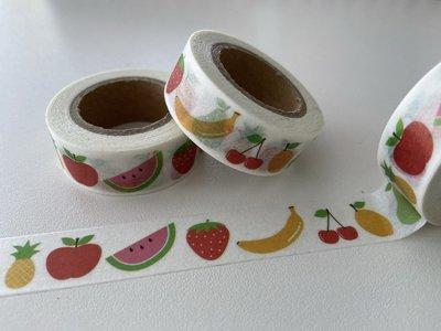 Washi Masking Tape | Fruits