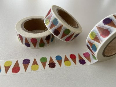 Washi Masking Tape | Icecream Cones