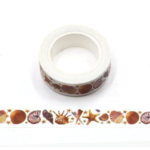 Washi Masking Tape | Sea Shells