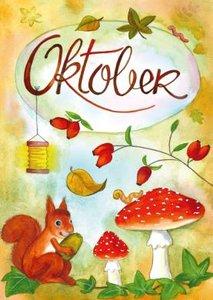 Postcard   Oktober