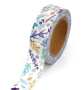 Washi Masking Tape | Winter Leaves