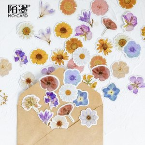 Sticker Flakes Box | Spring Flowers