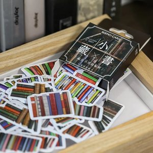 Sticker Flakes Box | Books