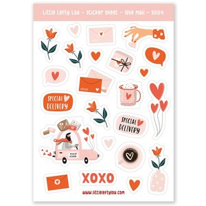Love Stickers - Little Lefty Lou