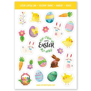 Easter Stickers - Little Lefty Lou