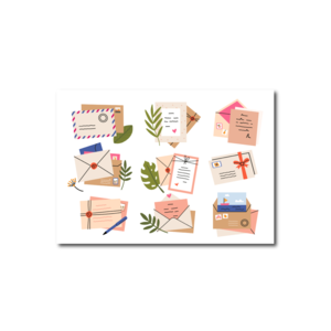 Postcard Craft Only Happy Things | Envelopes