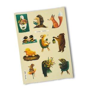Sticker Sheet - Cosy Days