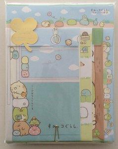 San-X Sumikkogurashi letter set | Clovers