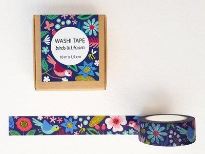 Washi Tape Birds & Bloom by Heleen van den Thillart