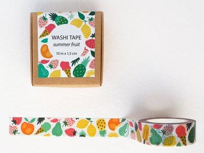 Washi Tape Summer Fruit by Heleen van den Thillart