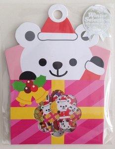Sticker Flakes Sack Mindwave Winter Selection   Polar Bear